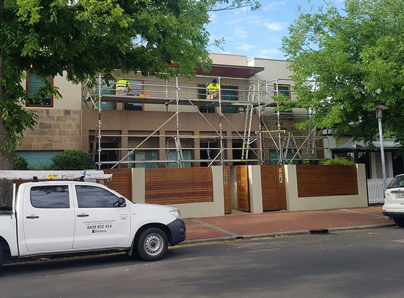 Furniss painting decorating painter services adelaide